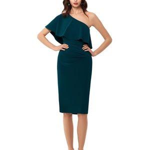 *NWT* One Shoulder Ruffle Dress